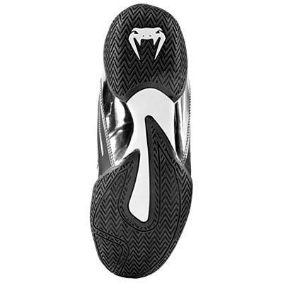 Venum Elite Boxing Shoes Black-Silver