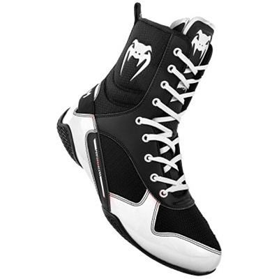 Venum Elite Boxing Shoes Noir-Blanc