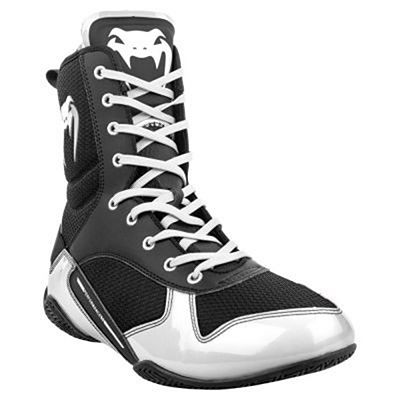 Venum Elite Boxing Shoes Nero-Bianco