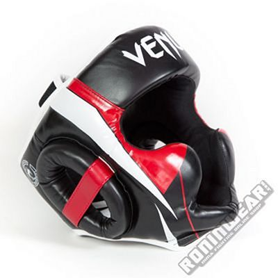 Venum Elite Headgear Noir-Rouge