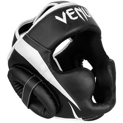 Venum Elite Headgear Svart-Vit