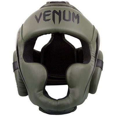 Venum Elite Headgear Green-Black