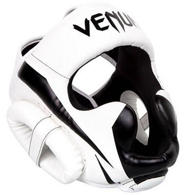 Venum Elite Headgear White-Black