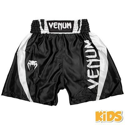 Venum Elite Kids Boxing Shorts Schwarz