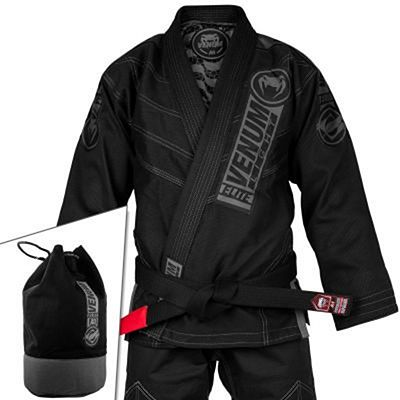 Venum Elite Light 2.0 BJJ Gi Svart-Svart