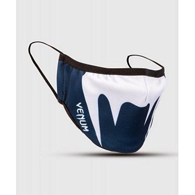 Venum FACE MASK White-Navy Blue