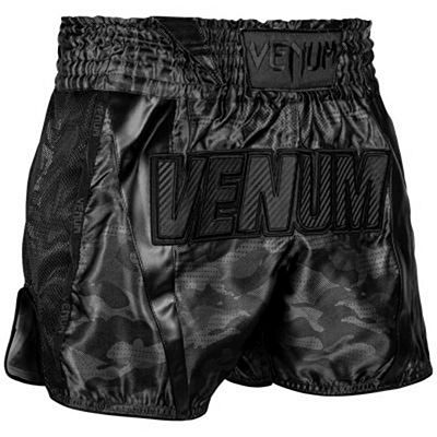 Venum Full Cam Muay Thai Shorts Nero-Nero