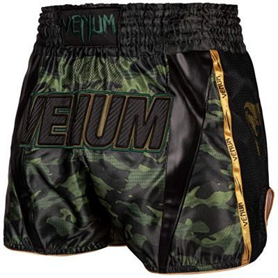 Venum Full Cam Muay Thai Shorts Nero-Verde