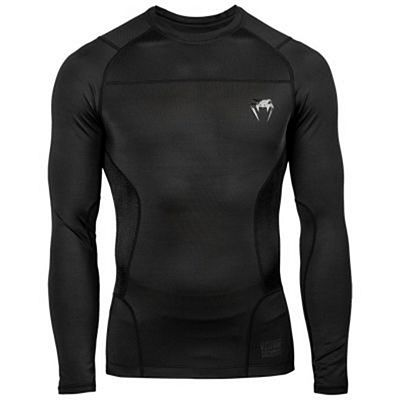 Venum G-Fit Rashguard LS Black