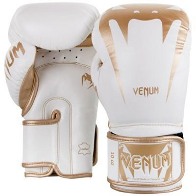 Venum Giant 3.0 Boxing Gloves Blanco-Oro