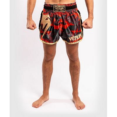 Venum Giant Camo Muay Thai Shorts Rouge-Or