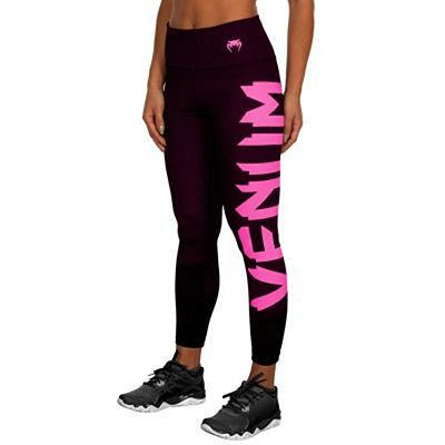 Venum Giant Leggings For Women Negro-Rosa