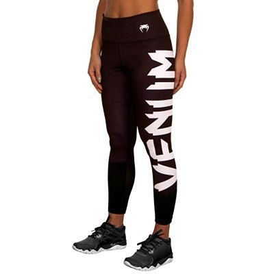 Venum Giant Leggings For Women Negro-Blanco