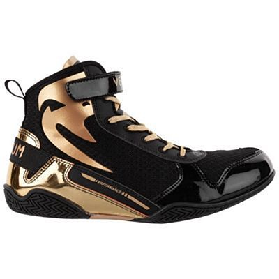 Venum Giant Low Boxing Shoes Nero-Oro