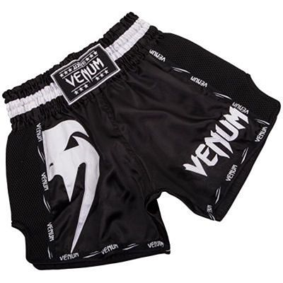 Venum Giant Muay Thai Shorts Preto-Branco