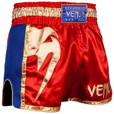 Venum Giant Muay Thai Shorts Röd-Gold