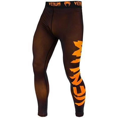 Venum Giant Spats Schwarz-Orange