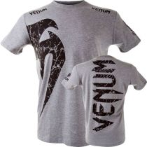 Venum Giant T-shirt Grau-Schwarz