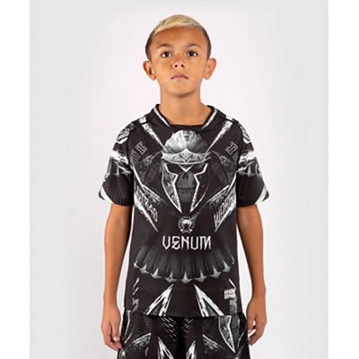 Venum GLDTR 4.0 Dry Tech T-shirt For Kids Black