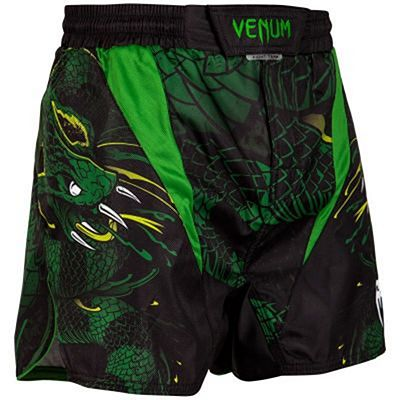Venum Green Viper Fightshorts Black-Green