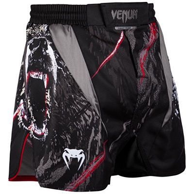 Venum Grizzli Fightshorts Black-White
