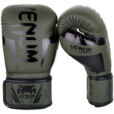 Venum Guantes Boxeo Elite Green-Black