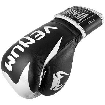 Venum Hammer Pro Boxing Gloves Velcro Schwarz-weiß