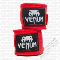 Venum Handwraps 400cm Rosso