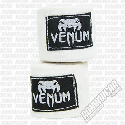 Venum Handwraps 400cm Bianco