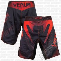 Venum Hurricane Amazonia Fight Shorts Negro-Rojo
