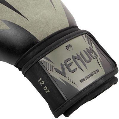Venum Impact Boxing Gloves Verde-Nero
