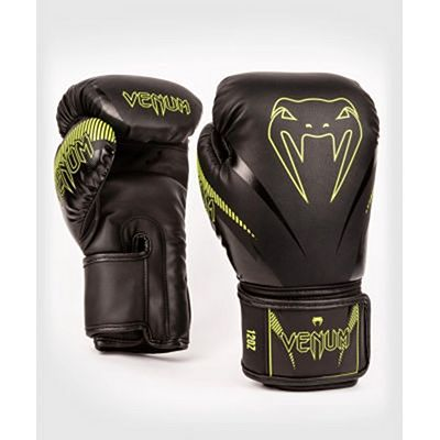 Venum Impact Boxing Gloves Neo Yellow-Black