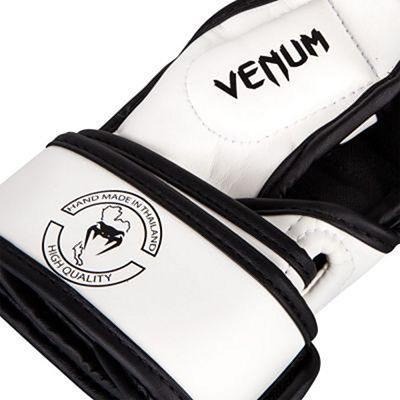 Venum Impact Sparring MMA Gloves White-Black