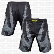 Venum Interference Fightshorts Negro-Gris