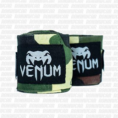 Venum Kontact Boxing Handwraps 2.5m Forest Camo