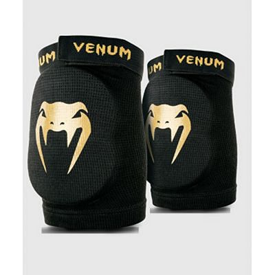 Venum Kontact Elbow Protector Black-Gold