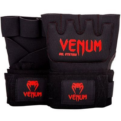 Venum Kontact Gel Glove Wraps Black-Red