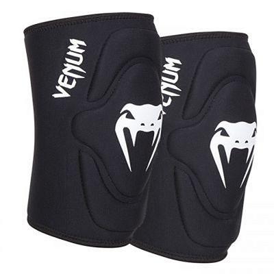 Venum Kontact Lycra/Gel Knee Pads Black
