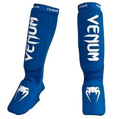 Venum Kontact Shinguard & Insteps Bleu