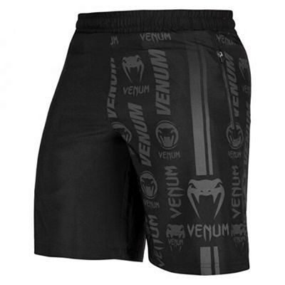 Venum Logos Training Shorts Schwarz