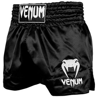 Venum Muay Thai Shorts Classic Noir-Blanc