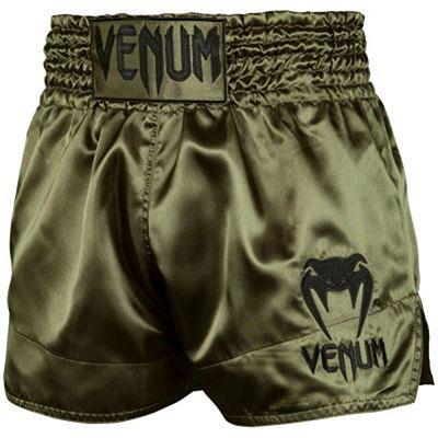 Venum Muay Thai Shorts Classic Grön