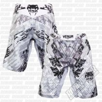 Venum Neo Camo Fight Shorts Blanco-Negro