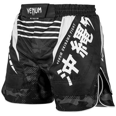 Venum Okinawa 2.0 Fightshorts Black-White