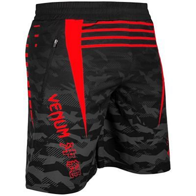 Venum Okinawa 2.0 Tranining Shorts Black-Red