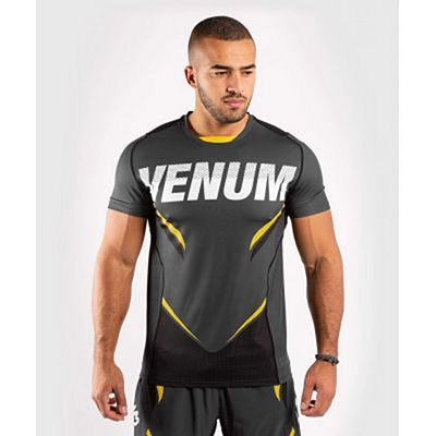 Venum ONE FC Impact Dry Tech Grey-Yellow