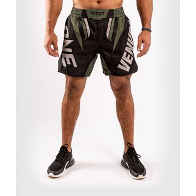 Venum ONE FC Impact Fightshorts Black-Green