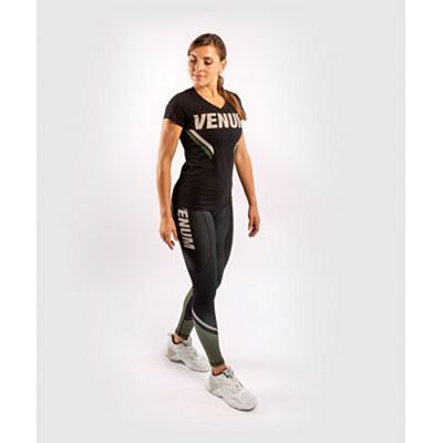 Venum ONE FC Impact Women Tshirt Black-Green
