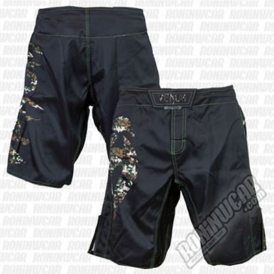 Venum Original Giant Fightshorts Jungle Camo Negro