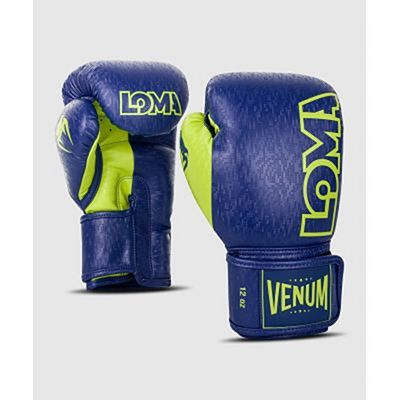 Venum Origins Boxing Gloves Loma Edition Blue-Yellow